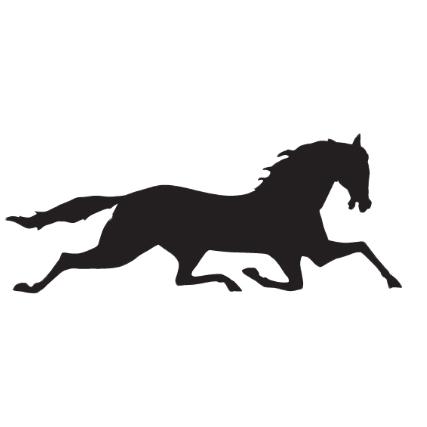 dark horse realty - Green Mustang Horse Logo